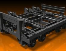 Projeto de carro para movimentar caçambas